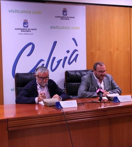Los responsables municipales del Área de Mantenimiento de Calvià