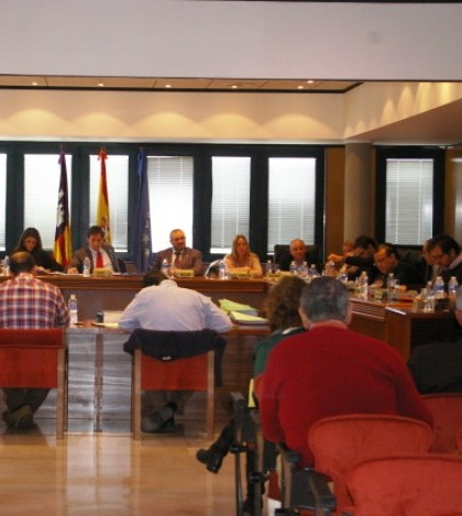 Un momento de la sesión plenaria celebrada el jueves 28 de noviembre en el Ayuntamiento de Calvià