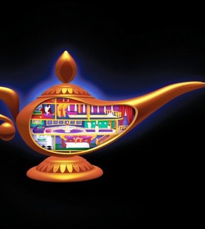 Aladdin, en inglés, en Sa Societat de Calvià