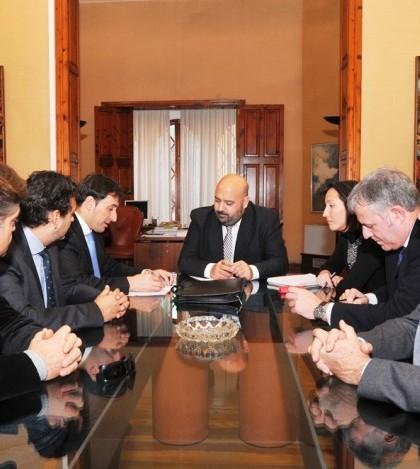 Encuentro entre el alcalde de Calvià y el conseller de Turismo y Deportes