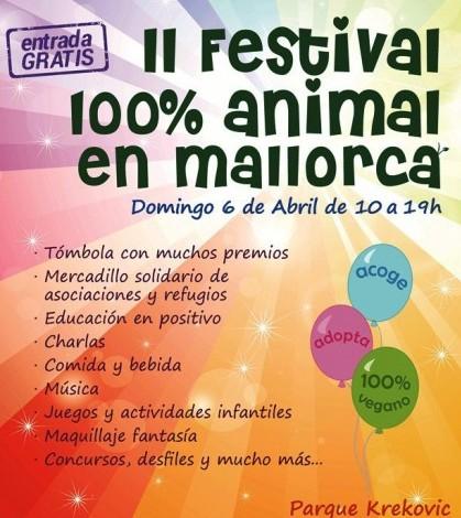 Cartel del Festival 100% Animal