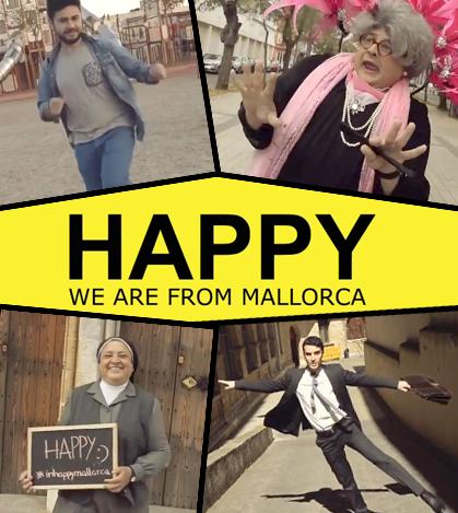 La revista INMTK acaba de lanzar la versión mallorquina de la archifamosa canción 'Happy' de Pharrell Williams