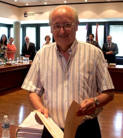 Bartolomé Calafat Rotger, después de casi 40 años de servicios municipales